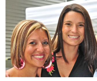 Melissa and Christina